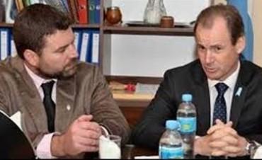 Gerardo Chapino fue elegido por el gobernador Bordet para asistir a un congreso de Alcaldes en Barcelona