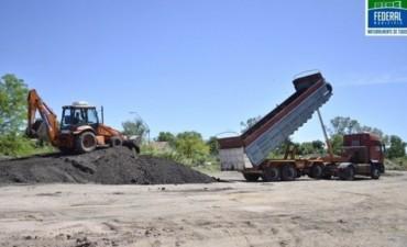 Federal: Con 300 toneladas de material asfáltico el Municipio le hace frente a las deterioradas calles