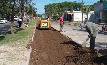 Por su alto deterioro: Trabajos de mantenimiento en Bulevar Urquiza