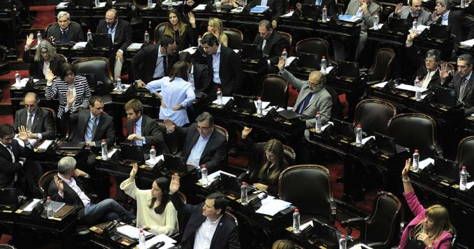 Diputados aprobó el primer presupuesto de Macri