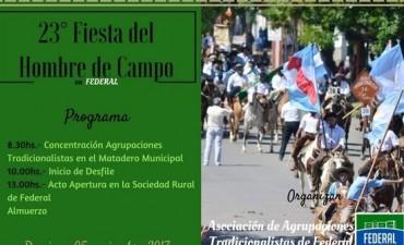 ÚLTIMO DÍA DE INSCRIPCIÓN PARA LA 23º FIESTA DEL HOMBRE DE CAMPO