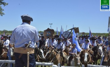 MASIVA CELEBRACIÓN DE LA 23º EDICIÓN DE LA FIESTA DEL HOMBRE DE CAMPO