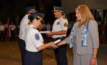 Se realizó el cierre del ciclo lectivo de la Escuela de Oficiales de Policía