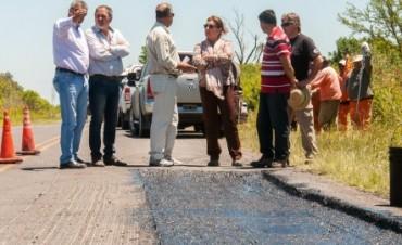 La Provincia lleva adelante trabajos de rehabilitación en la zona de Etchevehere