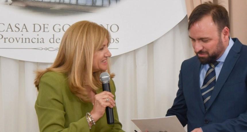 Asumió Fernando Quinodoz como secretario de Trabajo y Seguridad Social