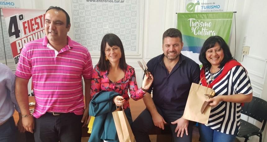 EL PRESIDENTE MUNICIPAL DE FEDERAL ESTUVO EN LA PROMOCIÓN DE LA 4ª FIESTA PROVINCIAL DEL CUCHILLERO