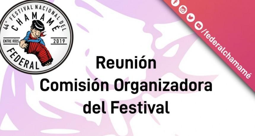 REUNIÓN DE COMISIÓN DEL FESTIVAL NACIONAL DEL CHAMAMÉ