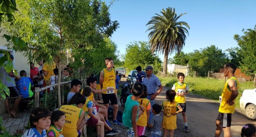Cierre de Atletismo en el Barrio