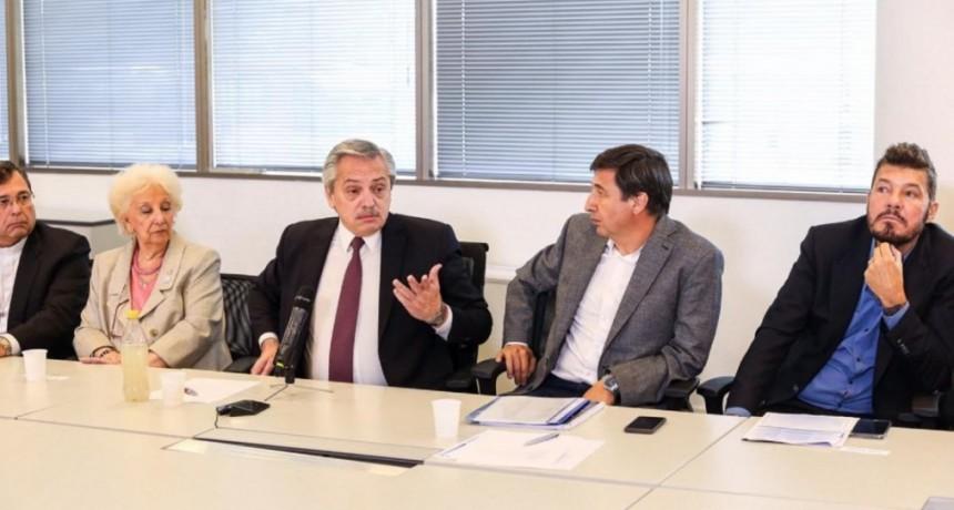 Alberto Fernández, tras la reunión del Consejo contra el Hambre: