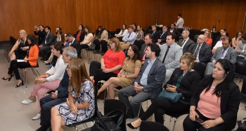 El gobierno acompañó el primer encuentro de Jueces de Paz realizado en Entre Ríos