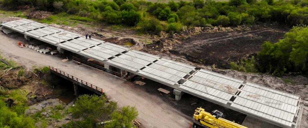 Avanza la obra del camino Bovril – El Solar en La Paz