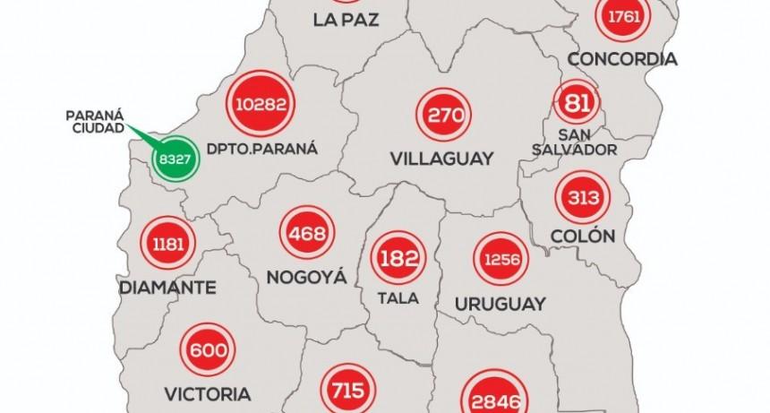 *REPORTE EPIDEMIOLÓGICO DE ENTRE RIOS 21/11/20* EN FEDERAL NO SE REPORTARON NUEVOS CASOS