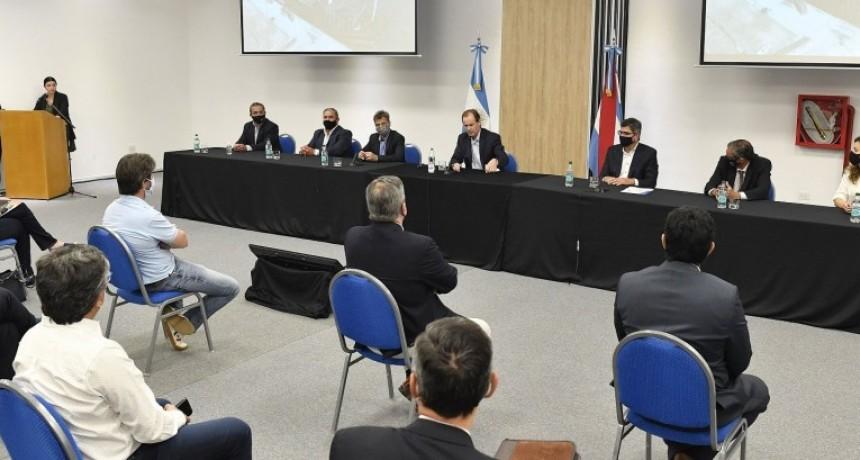 Se abrieron los sobres para las obras energéticas y de conectividad en el puerto de Ibicuy