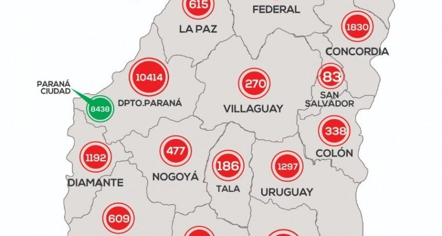 *EPIDEMIOLÓGICO DE ENTRE RIOS 23/11/20*  - NO SE REPORTARON CASOS NUEVOS EN FEDERAL-