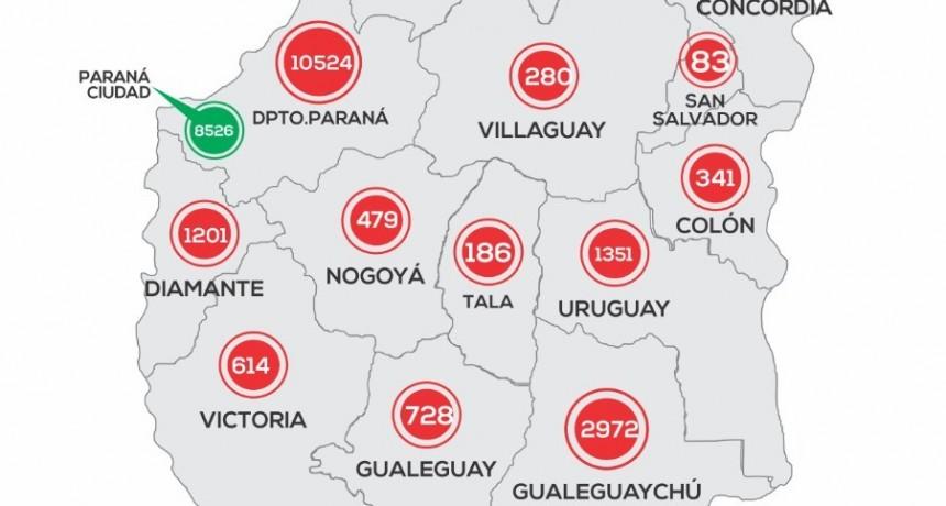 *REPORTE EPIDEMIOLÓGICO DE ENTRE RIOS 25/11/20* -NO REPORTARON CASOS NUEVOS EN FEDERAL-