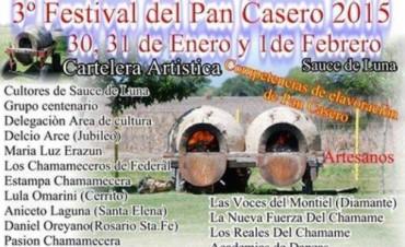 3º Festival del Pan Casero en Sauce de Luna