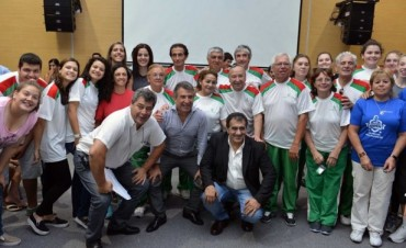 Urribarri reconoció a deportistas entrerrianos destacados durante 2014
