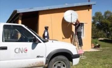 Está en marcha la instalación de la TV Satelital en Bovril