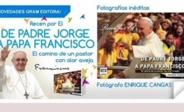 Presentan libro con fotografías de Jorge Bergoglio