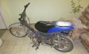 Se recuperaron motos robadas en la ciudad