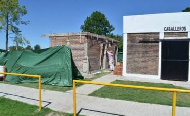 Se ejecutan obras en distintos espacios deportivos y de recreación de la ciudad