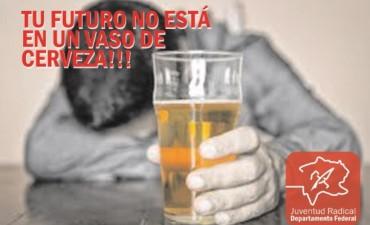 Advierten sobre el consumo de alcohol en estas fiestas