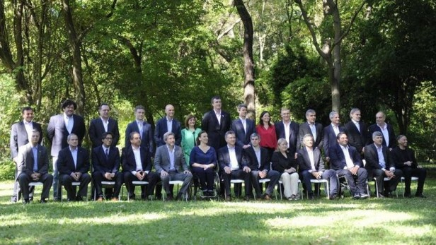 Macri presentó su gabinete y prometió reducir la inflación a un dígito