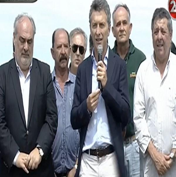 Macri pidió a los productores que