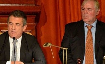 Allende dio la noticia de que Urribarri presidirá Diputados