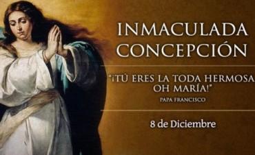 Eventos litúrgicos por el Día de la Virgen