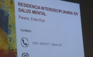 Comunicadores sociales entrerrianos podrán realizar la residencia en salud mental