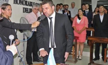 Juró Chapino y ya es el nuevo intendente en ejercicio
