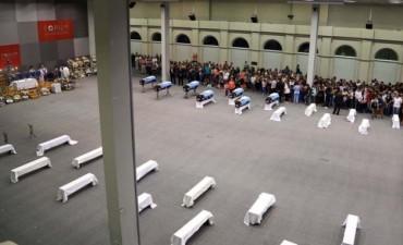 Despidieron a los gendarmes fallecidos en el accidente ocurrido en Rosario de la Frontera