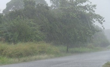 Sigue el alerta por tormentas fuertes para Entre Ríos