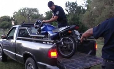 En el Camping Municipal retienen 7 motos en un Operativo de control.