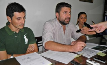 Chapino llamó a conferencia e informó sobre la crítica herencia que recibió