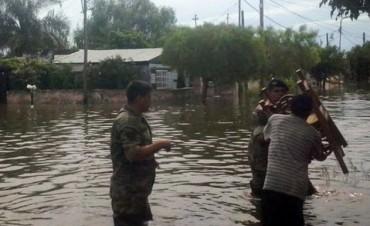 Concordia: esperan que el río se estabilice y que no haya grandes precipitaciones