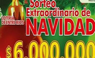 El primer premio del sorteo especial de Navidad en Entre Ríos se vendió en Victoria