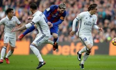 Real Madrid le empató el derby español a Barcelona en el final