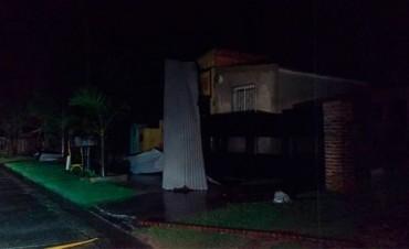 El temporal también provocó destrozos en Entre Ríos: Hay familias evacuadas