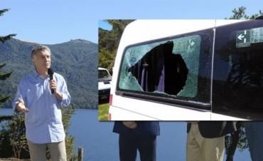 ATE Neuquén denuncia que el ataque a la camioneta de Macri fue