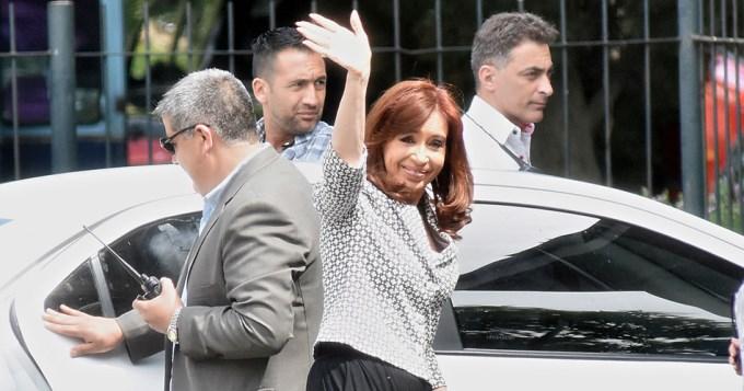 Cristina declara como testigo en la causa AMIA