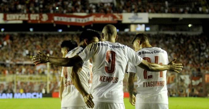 Independiente ganó y calmó un poco a sus hinchas