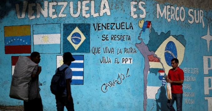 Suspendieron a Venezuela en el Mercosur