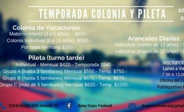REVISACIÓN MÉDICA PARA LOS ASISTENTES A LA COLONIA DE VACACIONES