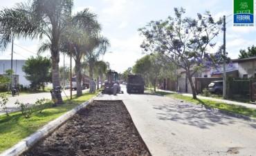 REPARACIÓN DE LA CARPETA ASFÁLTICA EN BULEVAR URQUIZA