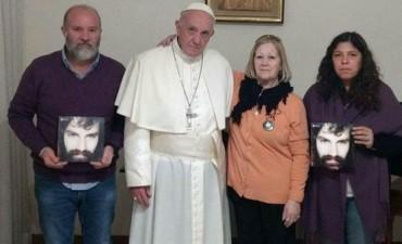 El papa Francisco se reunió con la familia de Santiago Maldonado: