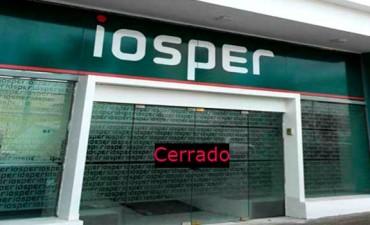 IOSPER no abrirá sus puertas este viernes