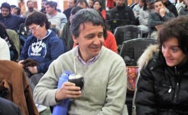 AGMER; Pagani asumirá en la sede de su seccional, Colón