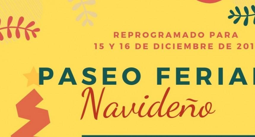 PASEO FERIAL NAVIDEÑO REPROGRAMADO